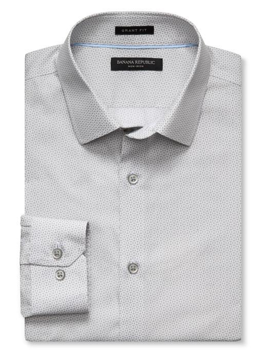 Grant-Fit ütü gerektirmeyen gömlek