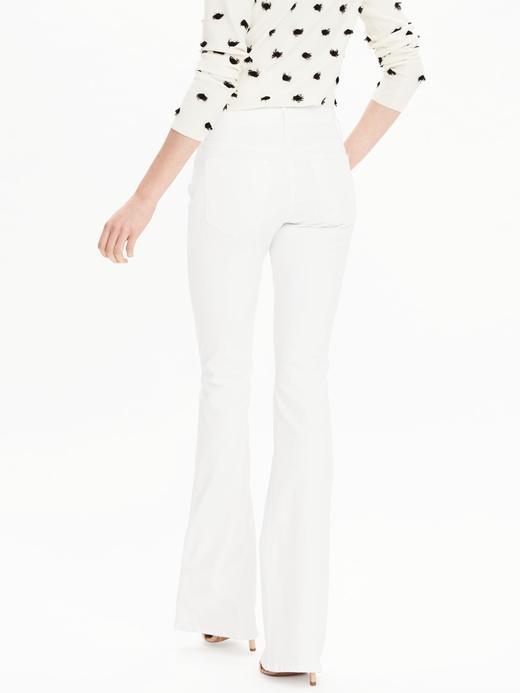 Kadın Beyaz Beyaz Flare pantolon