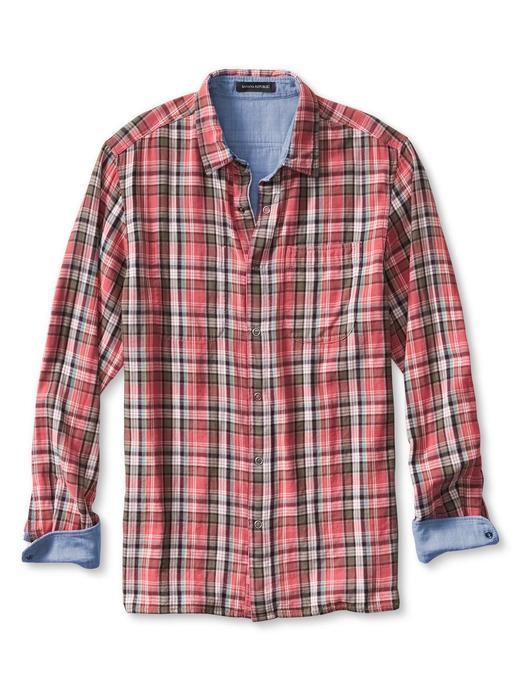 Camden-Fit kıvrılabilir gömlek