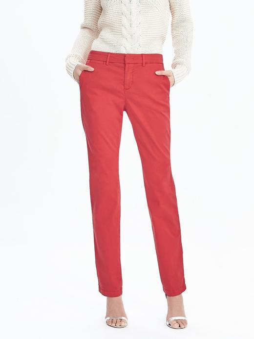 Straight-fit Chino Pantolon