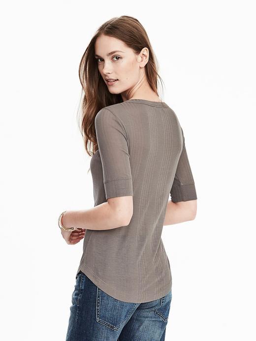 Beyaz Kısa Kollu T-Shirt
