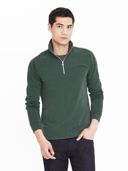 Polar yarım fermuarlı sweatshirt
