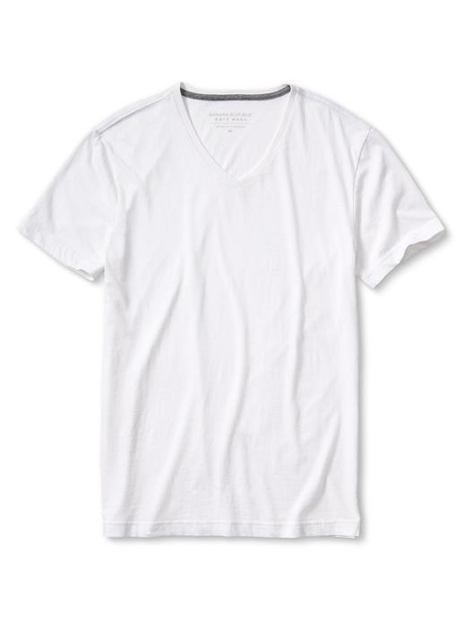 Soft-Wash V yaka t-shirt