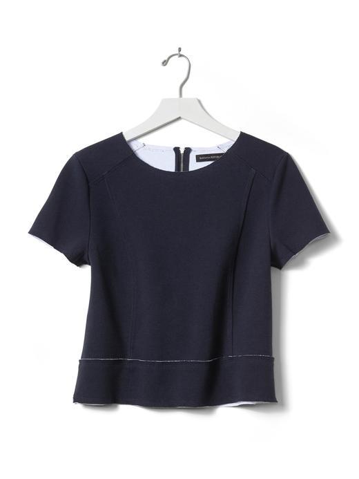 Dikiş detaylı bluz