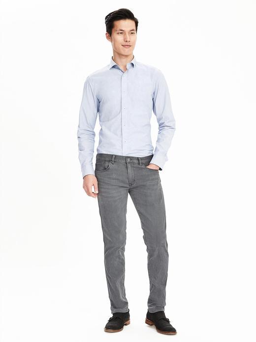 Traveler skinny denim pantolon