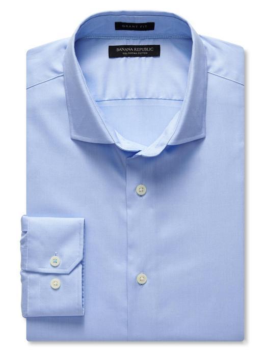 Grant-Fit Supima koton gömlek