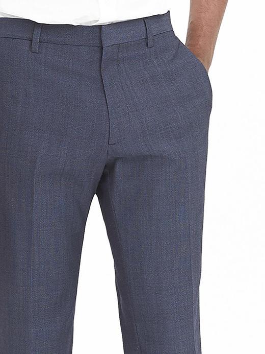 Slim Nanotex yün pantolon