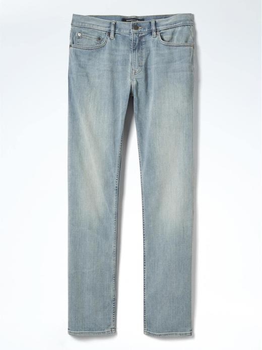 Slim Light Rocket Wash Jean pantolon