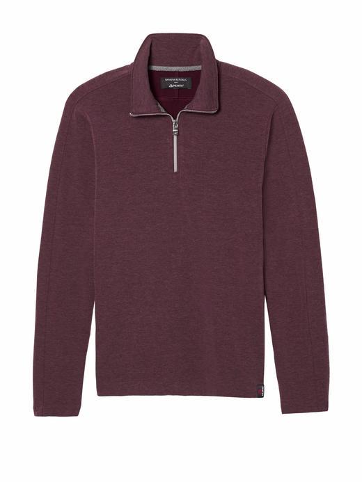 Polartec® Yarım Fermuarlı Sweatshirt