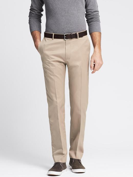 Modern Slim-Fit Ütü Gerektirmeyen Pantolon