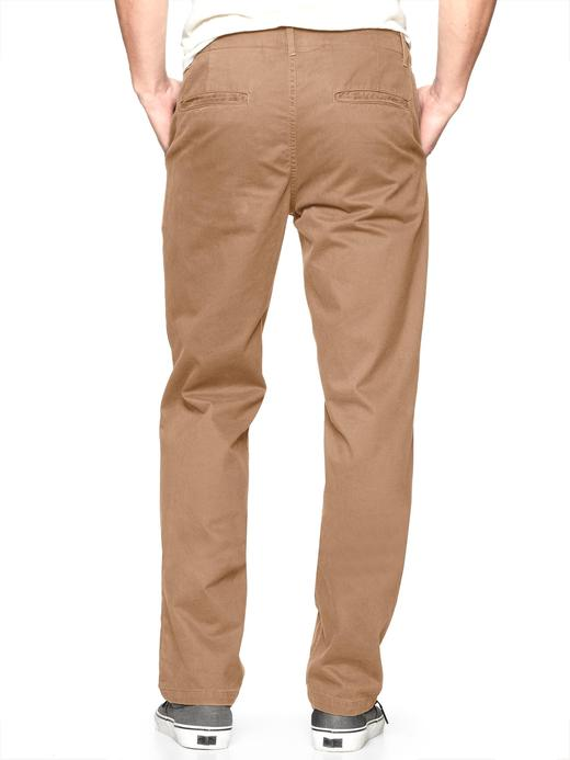 Lived-in Slim Khaki