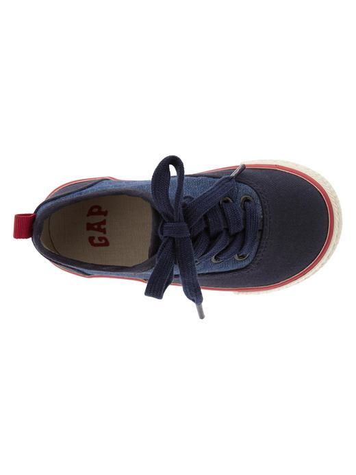 Bebek turkuaz Colorblock sneaker ayakkabı