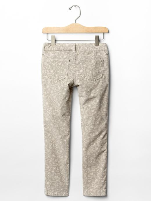 Super skinny kadife pantolon