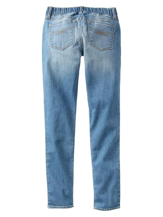 orta yıkama 1969 legging jean pantolon