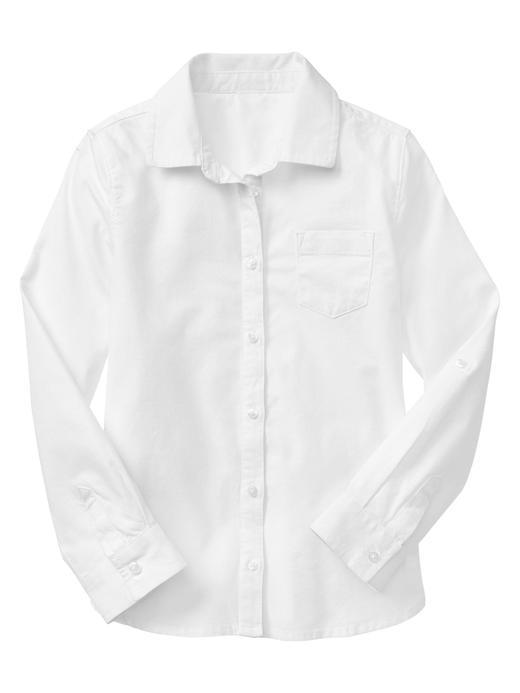 Kolları kıvrılabilen Oxford gömlek