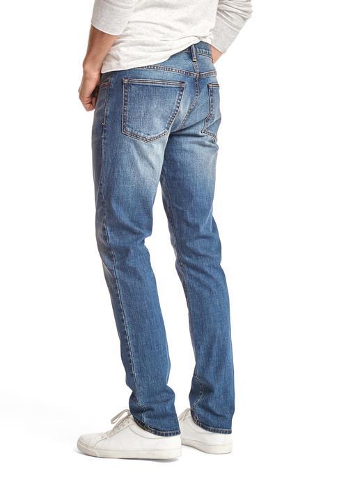 Erkek orta yıkama 1969 authentic skinny fit jean