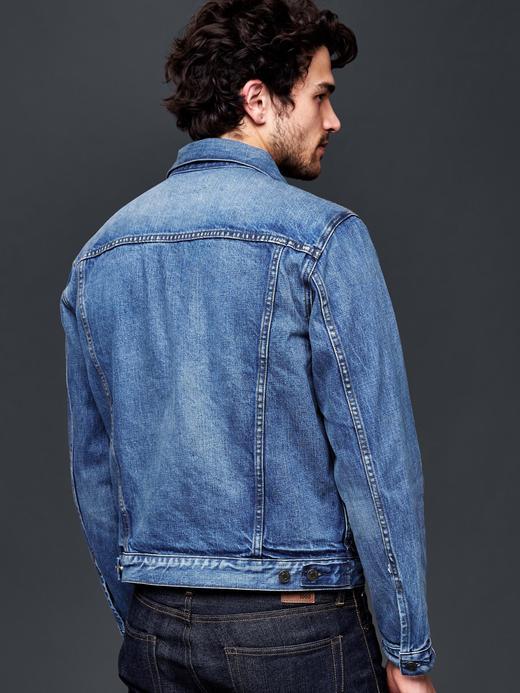 orta indigo 1969 denim ceket