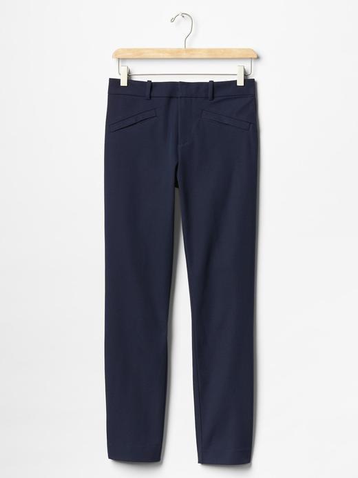 Streç skinny bilekte pantolon