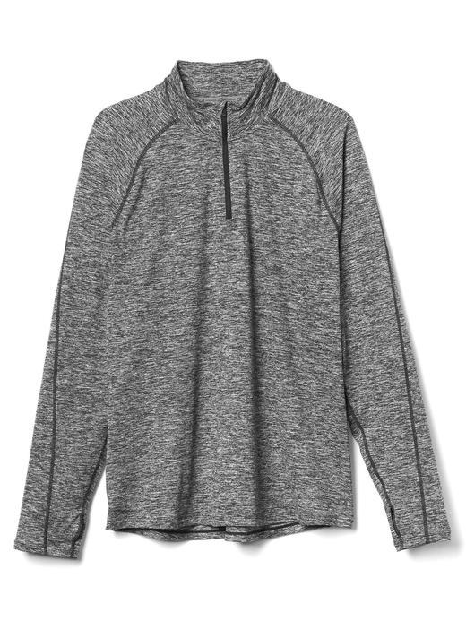 GapFit yarım fermuarlı sweatshirt