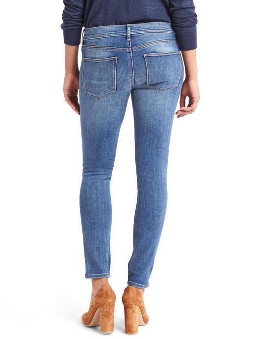 Kadın orta indigo 1969 true skinny jean pantolon