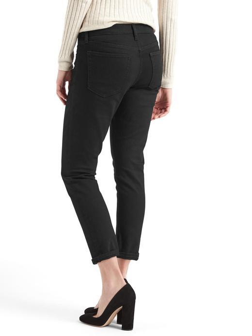 siyah 1969 girlfriend jean pantolon