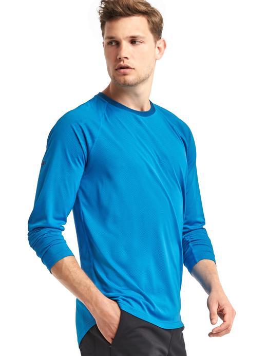 neon mercan Uzun kollu t-shirt