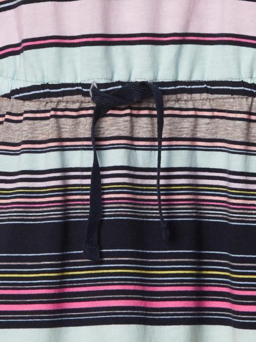 çok renkli çizgili Çizgili elbise