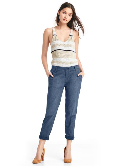 Girlfriend chino pantolon