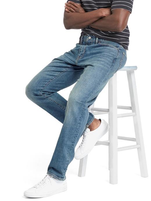 Taper fit jean pantolon