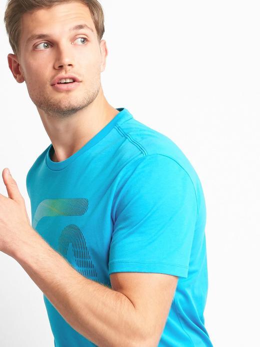 GDry grafik desenli t-shirt