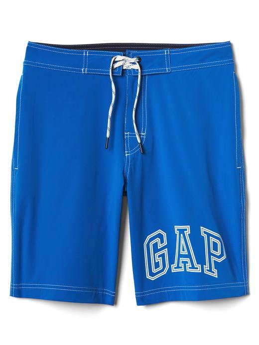 gri mavi Gap Logolu deniz şortu