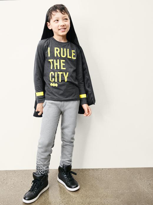 Erkek Çocuk Siyah Junk Food™ Batman™ şapka