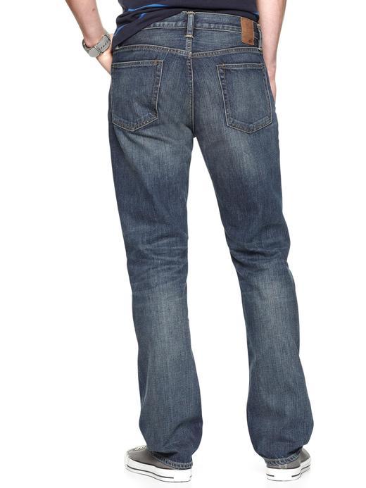 Erkek vintage 1969 Straight fit jean pantolon (vintage yıkama)