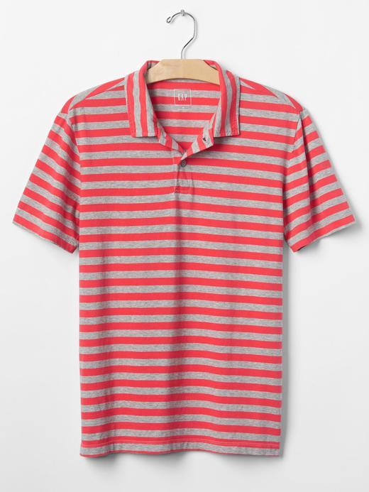Vintage yıkamalı polo yaka t-shirt