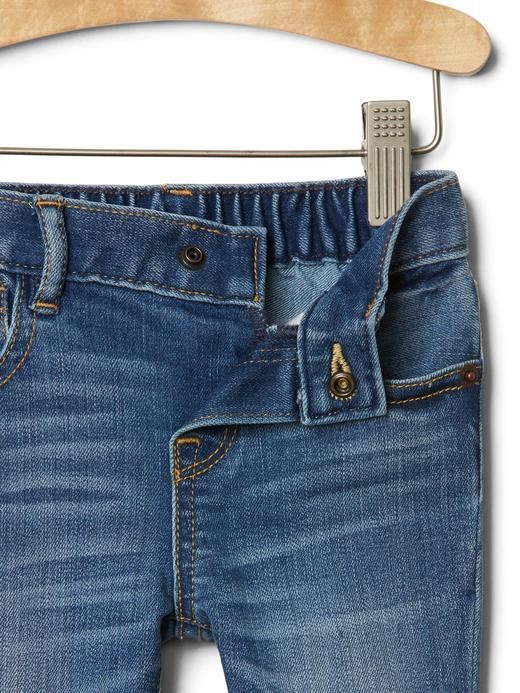 Bebek orta yıkama 1969 skinny jean pantolon