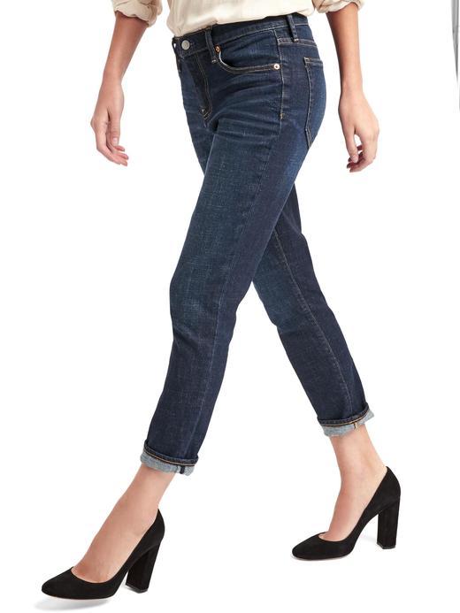 orta indigo 1969 Girlfriend jean pantolon