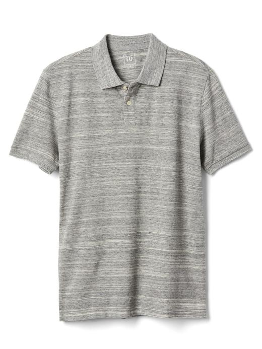 Kırçıllı polo yaka t-shirt