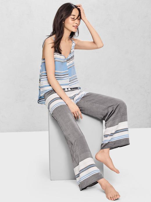 Desenli lounge pijama altı