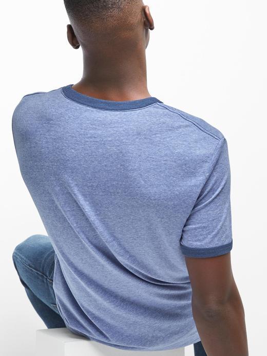 kırmızı Gap Logolu t-shirt