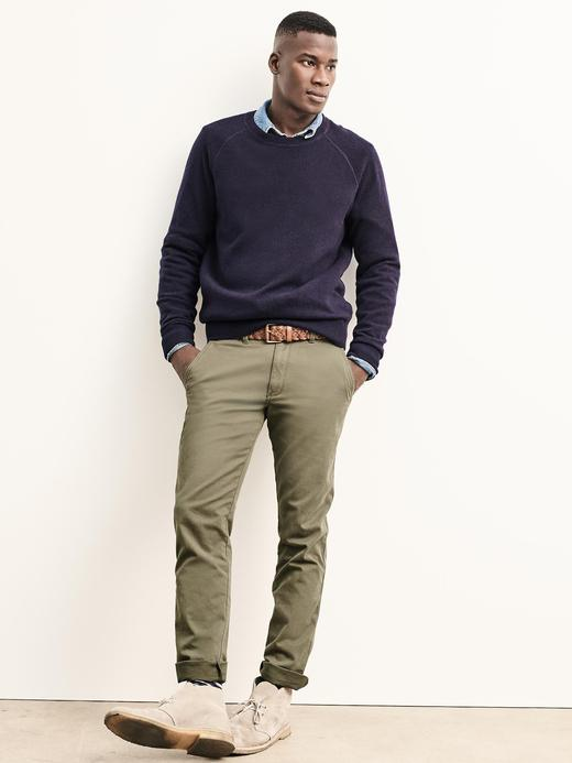 Slim Fit khaki pantolon