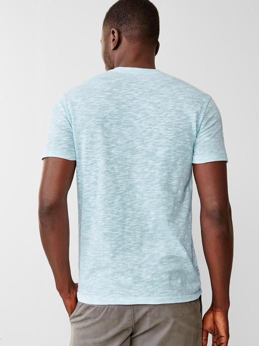 Kırçıllı v yaka t-shirt