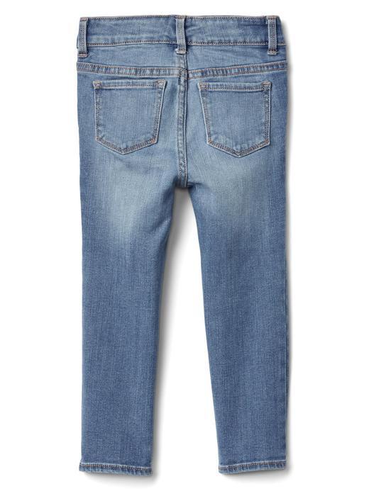 Bebek orta indigo 1969 streç skinny jean pantolon