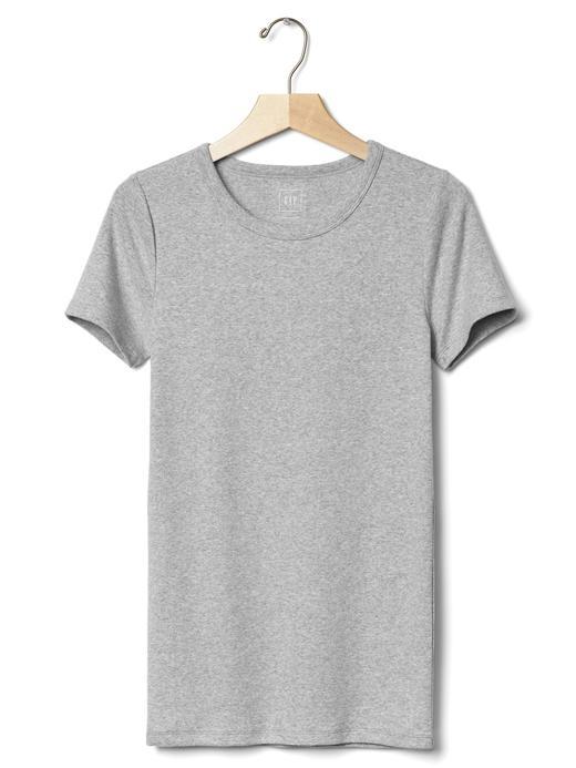 Kadın Siyah Modern Bisiklet Yaka T-Shirt