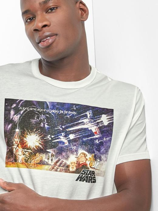 kırık beyaz Gap | Star Wars™ galaxy far far away t-shirt