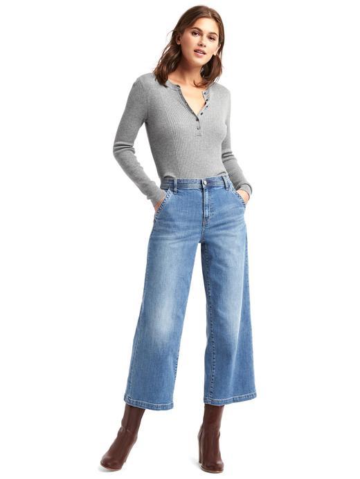1969 Wide leg yüksek bel pantolon