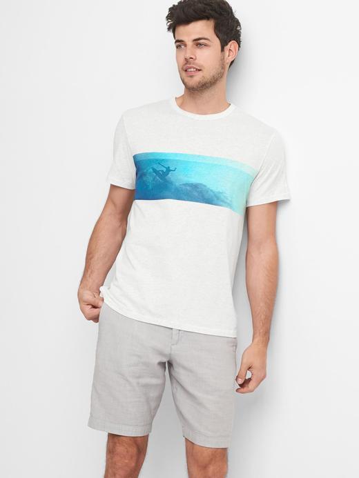 Gap | Bielmann grafik desenli t-shirt