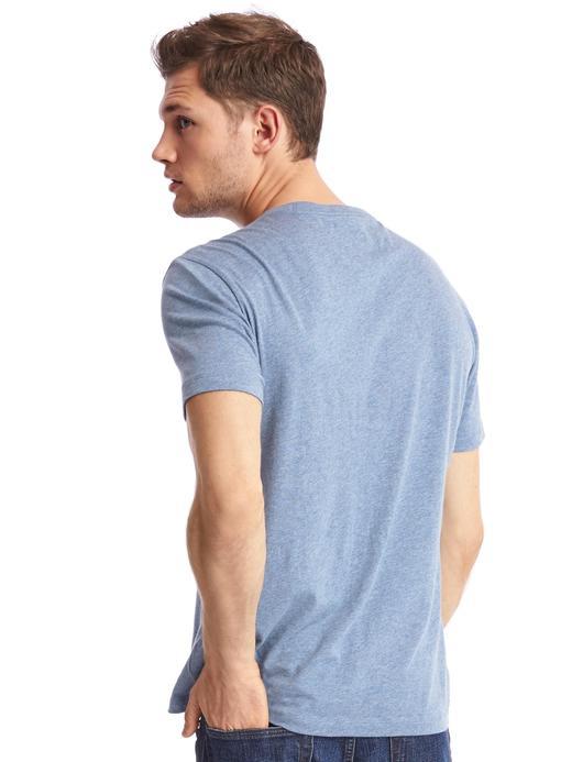Essential kısa kollu bisiklet yaka t-shirt