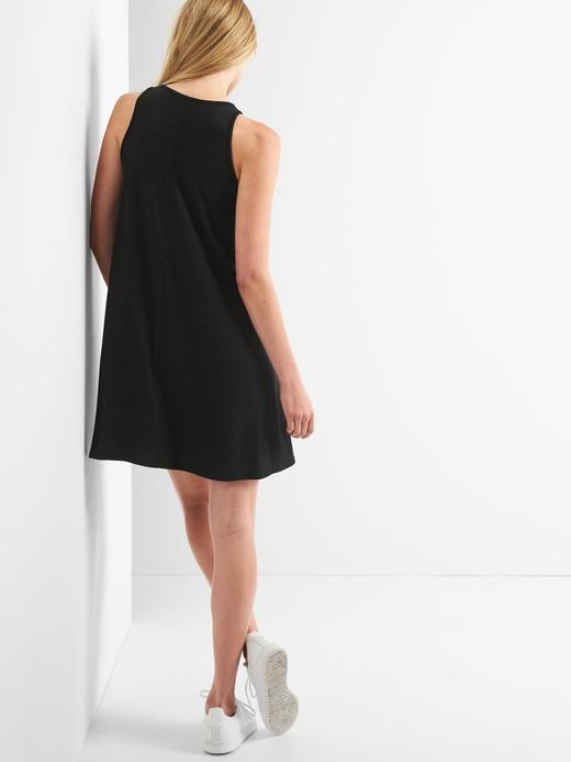 Kadın gri Softspun atlet elbise