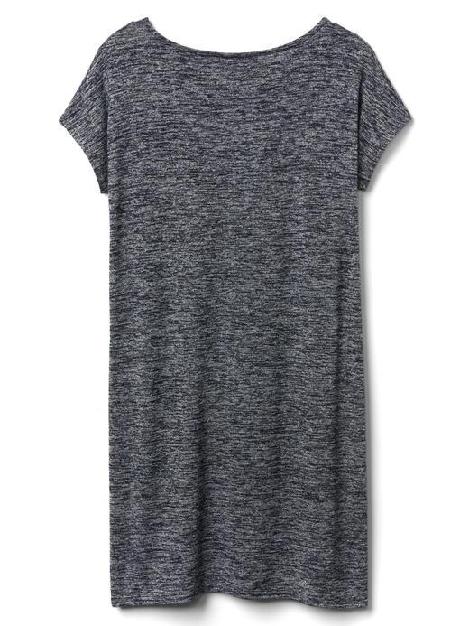 Softspun kayık yaka elbise
