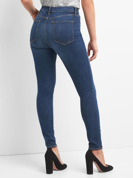 Yüksek belli Sculpt true skinny jean pantolon